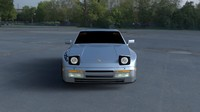 porsche 944 turbo hdri obj