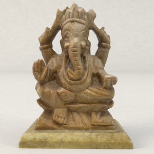 photogrammetry ganesha god figure max