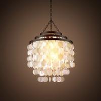 chandelier capiz 3d obj