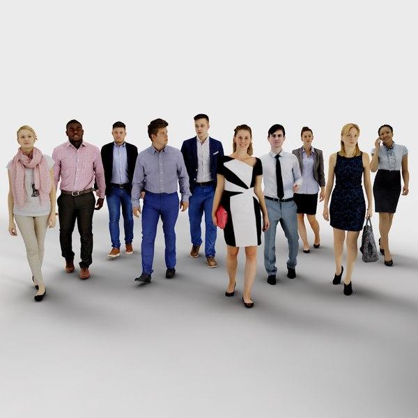 3d model human people