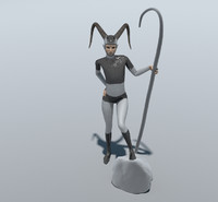 free mythical creature 3d model
