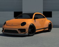 3d model rwb beetle