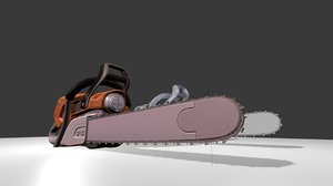 chainsaw animation fbx