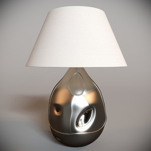x vaughan possagno vase table lamp