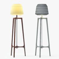 Ceccotti Collezioni Lampo Floor Lamp