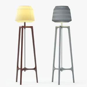 ceccotti collezioni lampo floor lamp 3d 3ds