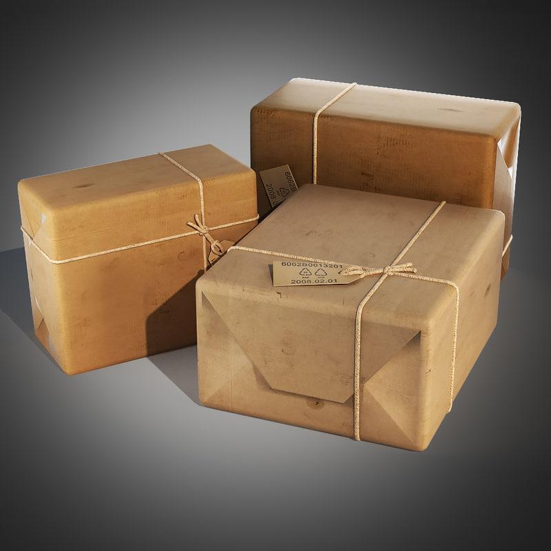 3d model post package