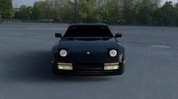 3d model porsche 944 turbo hdri