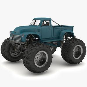 3d monster truck