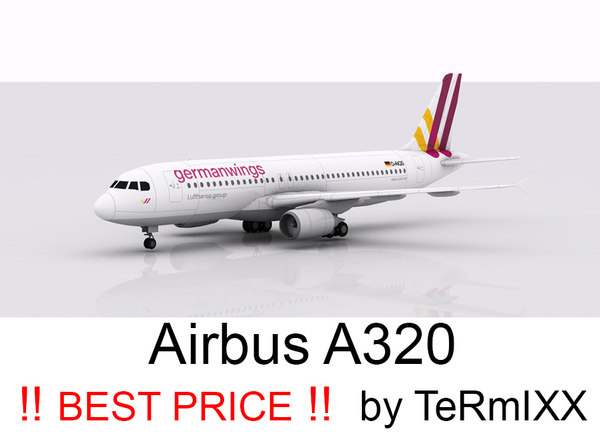 airbus a320 germanwings 3ds