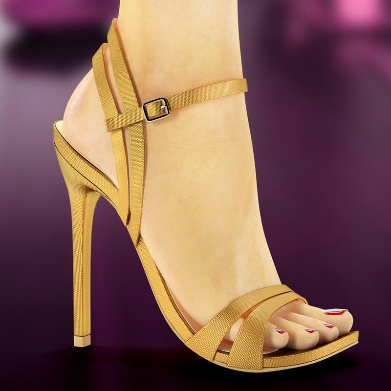 heels leg max
