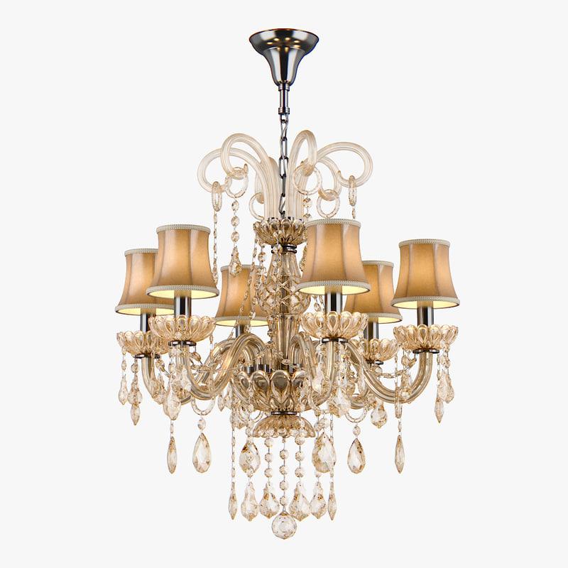 3d model chandelier 715067 md89055 6