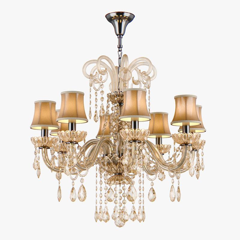 chandelier 715087 md89055 8 3d model