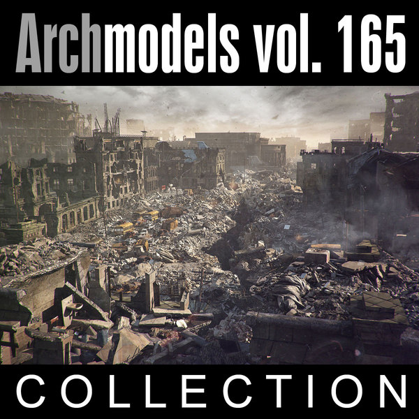 3d model archmodels vol 165