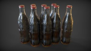 3d model of nuka cola bottle