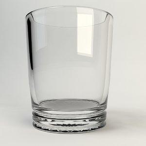 3d drink glass model