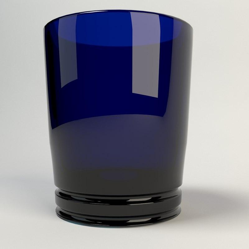 3d model of drink glass