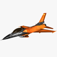 F16 Fighter Jet (Rigged)