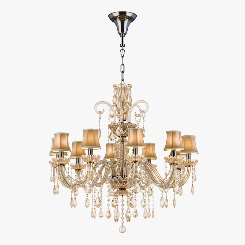 chandelier 715107 md89055 10 3d max