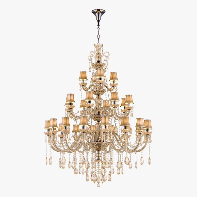 chandelier 715287 md89055 16 3d model