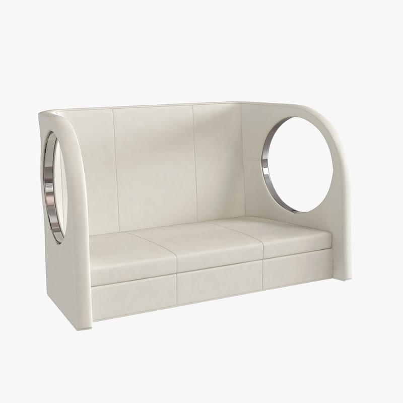 enterprise sofa ipe cavalli 3d max