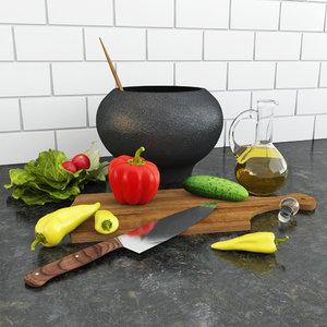 vegetables tomatoes salad max