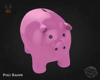 piggy bank 3d max