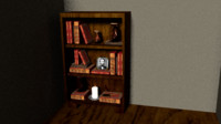 wood shelf 3ds