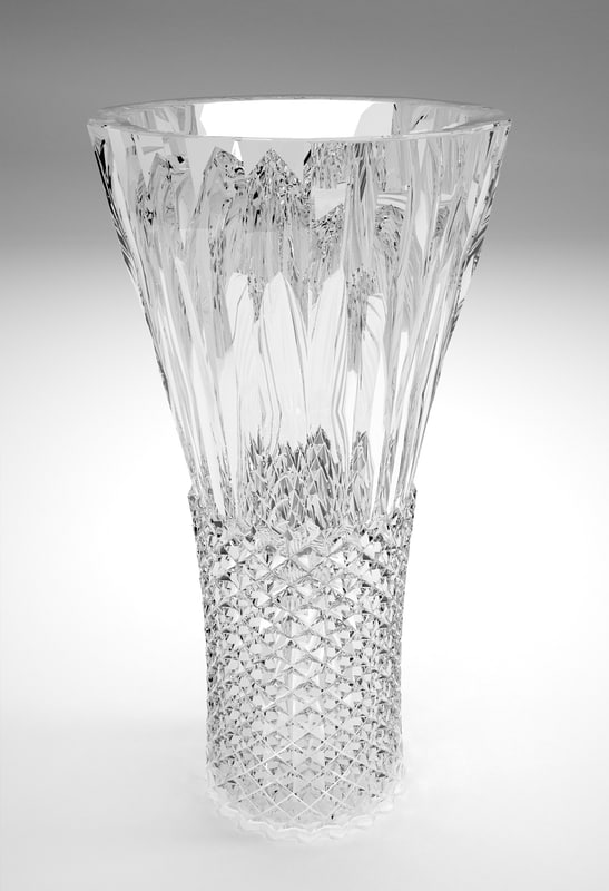traditional crystal vase 3d 3ds