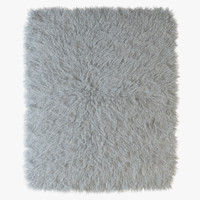Tibetan sheepskin snow-white