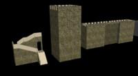 free fort 3d model