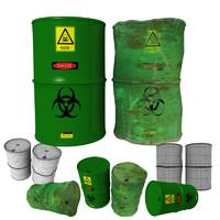 3d barrels industrial