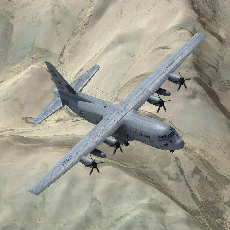 max c130h aircraft usaf c130