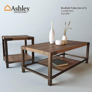 dexifield table decor 3d model
