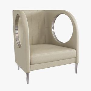 cavalli chair 3d max