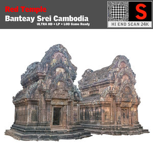 obj red temple ultra hd