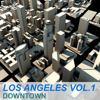 3d model los angeles downtown
