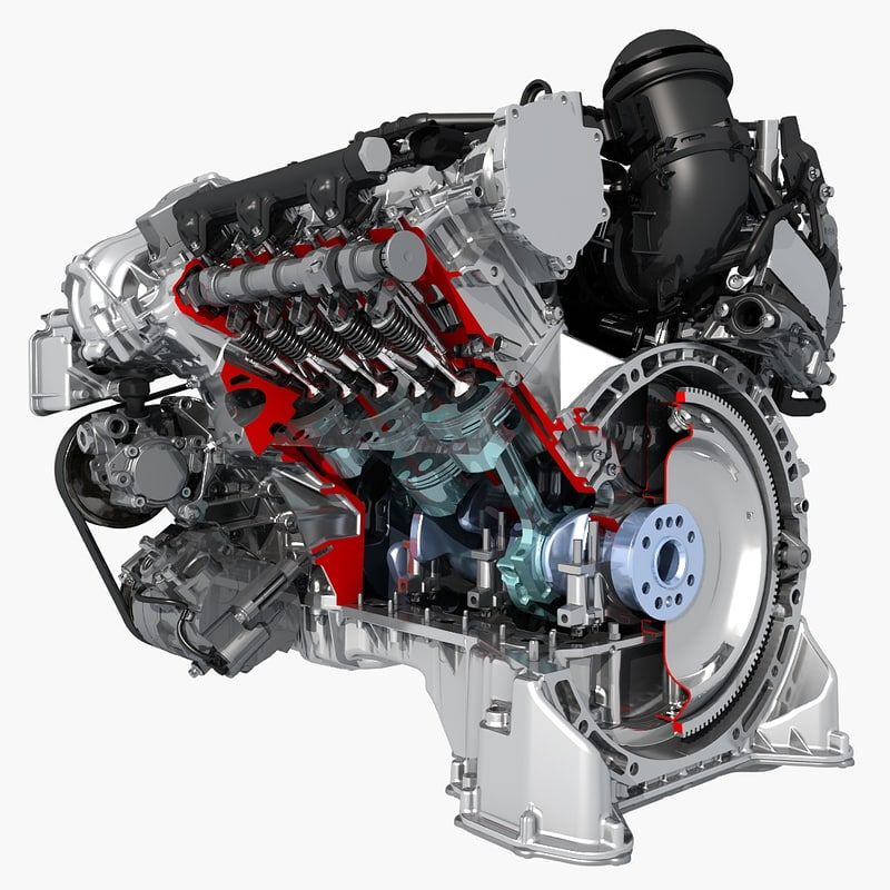 3d petrol engine