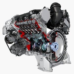 3d petrol engine