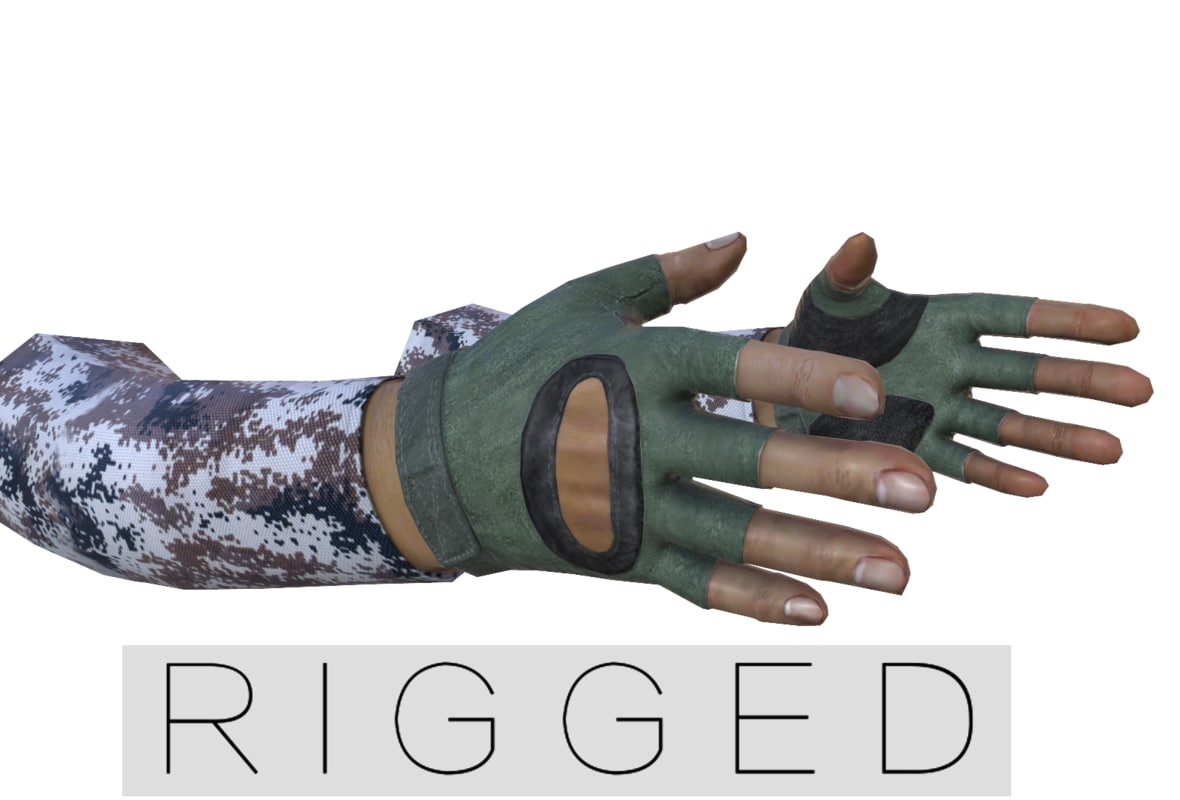 real-time hand 3d obj