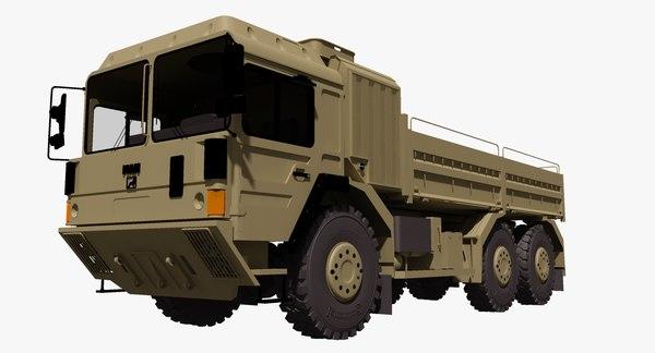 rheinmetall man hx 61 3d model