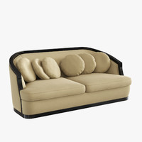 cavalli sofa martinez 3d model