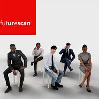 3d human architectural scans