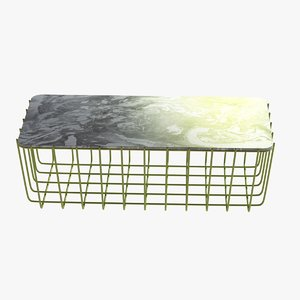 3d model of table blu dot scamp