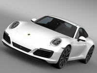 Porsche 911 Carrera 4S Coupe 991 2016