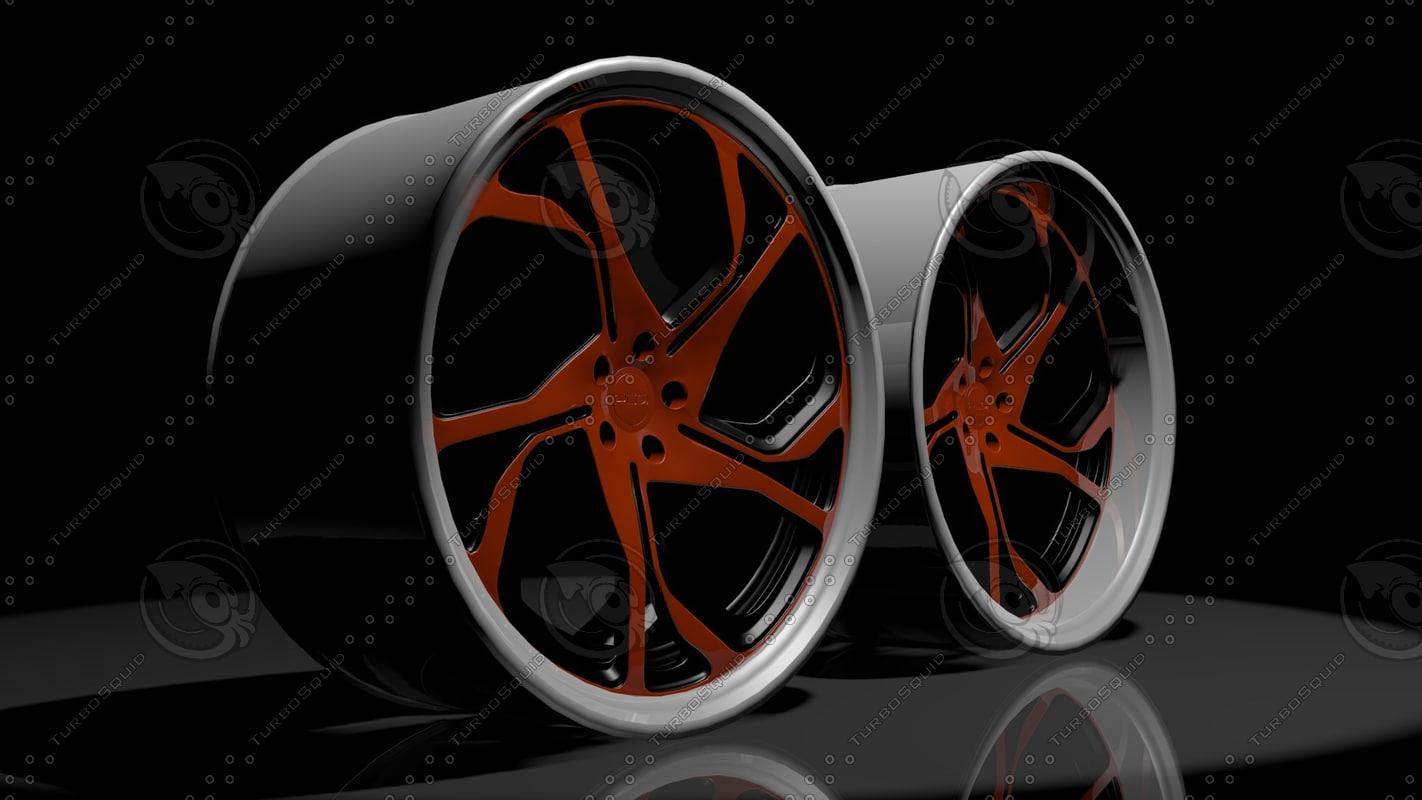rims pur rs12 3d model