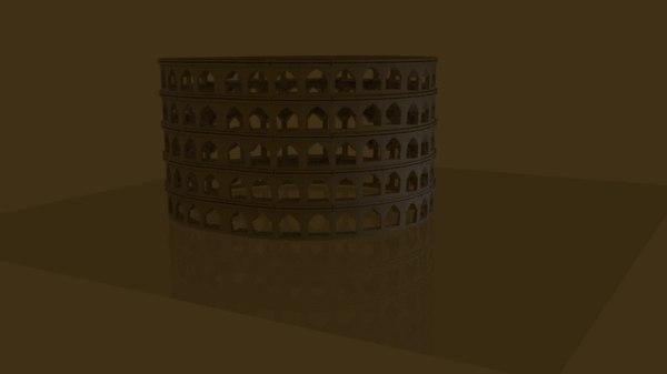3d colosseum