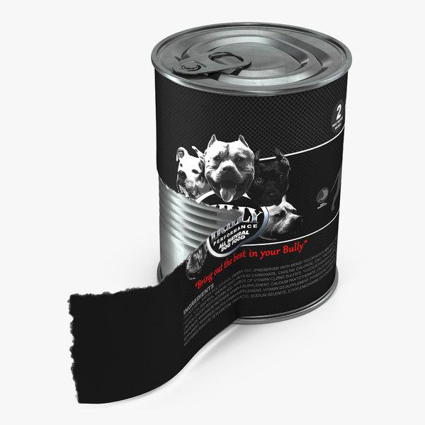 3d dog food tin 4