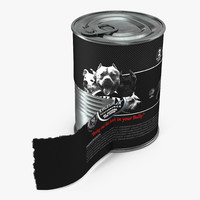 3d dog food tin 4