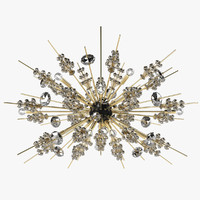 3d lobmayr opera chandelier light